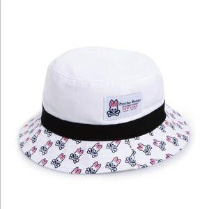 Men s White Psycho Bunny "Sunburst" Hat. d286c24b6d71